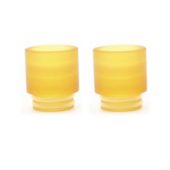 Clrane 810 Replacement PEI Drip Tip 2pc - Yellow