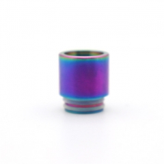 Clrane 810 Replacement SS Drip Tip 1pc - Rainbow