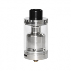 Ohmec Style 30mm RTA Rebuildable Tank Atomizer 10ml - Silver