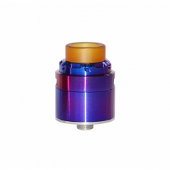 Reload X Style 24mm RDA Rebuildable Dripping Atomizer w/ BF Pin - Purple