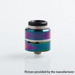 Layercake CSMNT V2 Style 24mm RDA Rebuildable Dripping Atomizer w/ BF Pin - Rainbow