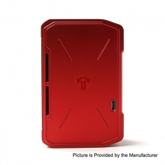 Pre-Sale Authentic Tesla Invader IV 280W 18650/20700/21700 VV Variable Voltage Box Mod - Red
