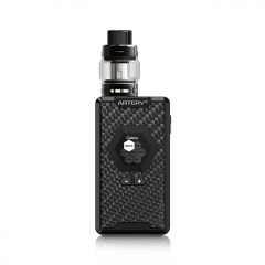 Pre-Sale Authentic Artery Hive 200 200W TC Temperature Control Full Kit - Carbon Fiber