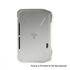 Pre-Sale Authentic Tesla Invader IV 280W 18650/20700/21700 VV Variable Voltage Box Mod - Silver