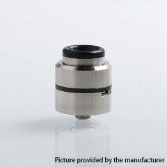 Layercake CSMNT V2 Style 24mm RDA Rebuildable Dripping Atomizer w/ BF Pin - Silver