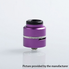 Layercake CSMNT V2 Style 24mm RDA Rebuildable Dripping Atomizer w/ BF Pin - Purple