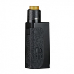Authentic Wismec Luxotic 18650/21700 MF Box Squonk Box Mod w/o Screen + Guillotine V2 RDA Kit 7ml - Black