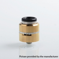 Layercake CSMNT V2 Style 24mm RDA Rebuildable Dripping Atomizer w/ BF Pin - Gold
