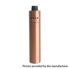 Zero Shorty Style 18650 Mechanical Mod Kit 24mm - Copper