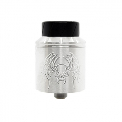 Reckoning Style RDA 25mm Rebuildable Dripping Atomizer w/ BF Pin - Silver