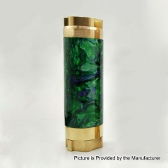 AV Kane Style 18650/20700 Hybrid Mechanical Tube Mod - Green