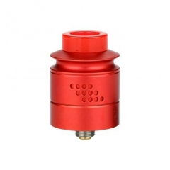 Authentic Timesvape Reverie 24mm RDA Rebuildable Dripping Atomizer w/BF Pin - Red