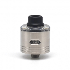 ULTON Skyfall Style 316SS 22mm RDA Rebuildable Dripping Atomizer w/ BF Pin - Silver