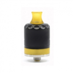 Legend Styled 316SS 22mm RDTA Rebuildable Dripping Tank Atomizer 2ml w/ BF Pin - Black