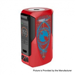 Authentic Vaporesso Tarot Baby 85W 2500mAh TC VW Variable Wattage Box Mod - Red