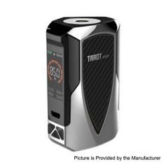 Authentic Vaporesso Tarot Baby 85W 2500mAh TC VW Variable Wattage Box Mod - Silver