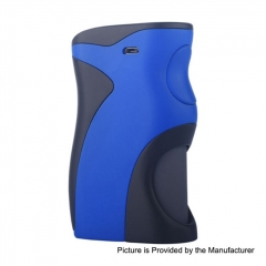 Authentic Wotofo Recurve 80W 18650 / 20650 / 20700 / 21700 Squonk Mechanical Box Mod w/8ml Bottle - Blue