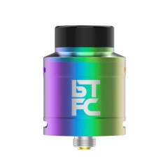 Authentic Augvape BTFC 25mm RDA Rebuildable Dripping Atomizer w/ BF Pin - Rainbow