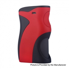 Authentic Wotofo Recurve 80W 18650 / 20650 / 20700 / 21700 Squonk Mechanical Box Mod w/8ml Bottle - Red