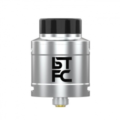Authentic Augvape BTFC 25mm RDA Rebuildable Dripping Atomizer w/ BF Pin - Silver