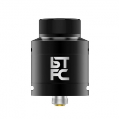 Authentic Augvape BTFC 25mm RDA Rebuildable Dripping Atomizer w/ BF Pin - Black