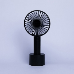 Outdoor Mini HandHeld USB Charging Fan Portable Fan - Black