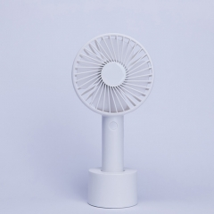 Outdoor Mini HandHeld USB Charging Fan Portable Fan - White