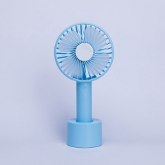 Outdoor Mini HandHeld USB Charging Fan Portable Fan - Blue
