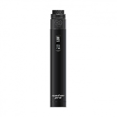 Authentic Ehpro 101 Pro 21700/20700/18650 75W TC Temperature Control Tube Mod 25mm w/ Lock RDA Kit - Black