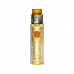 SOB Style 18650 Hybrid Mechanical Mod w/Outlaw Style RDA Kit - Transparent