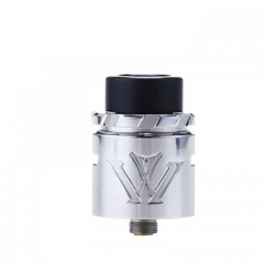 Authentic VXV X 24mm RDA Rebuildable Dripping Atomizer w/ BF Pin - Silver