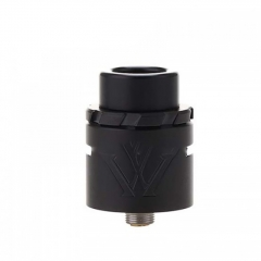 Authentic VXV X 24mm RDA Rebuildable Dripping Atomizer w/ BF Pin - Black