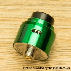 DPRO Mini Style 22mm RDA Rebuildable Dripping Atomizer w/BF Pin - Green