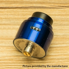 DPRO Mini Style 22mm RDA Rebuildable Dripping Atomizer w/BF Pin - Blue