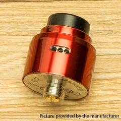 DPRO Mini Style 22mm RDA Rebuildable Dripping Atomizer w/BF Pin - Red