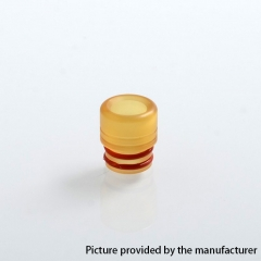 Coppervape Replacement 510 ULTEM Drip Tip for CloudOne Blasted V4 RTA 11.95mm 1PC - Yellow