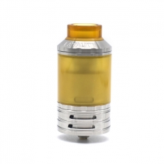 (Ships from Germany)Lysen Fatality Style 316SS 28mm RTA Rebuildable Tank Atomizer 2ml/4ml - Silver