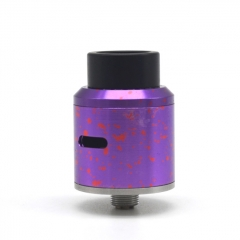 Goon Style 24mm Rebuildable Dripping Atomizer - Purple Dot