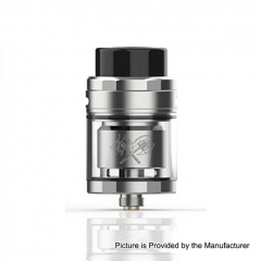 Authentic Acevape MK 25mm RTA Rebuildable Tank Atomizer 5ml - Silver