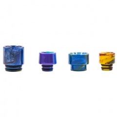 Aleader Replacement 510 Drip Tip + 810 Drip Tip (D1) 4pcs - Random Color