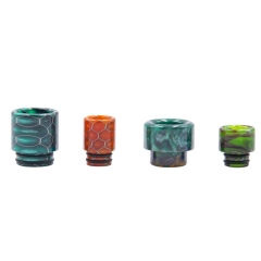 Aleader Replacement 510 Drip Tip + 810 Drip Tip (D2) 4pcs - Random Color