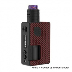 Authentic Vandy Vape Pulse X 90W 18650/20700/21700 Squonk Kit - G10 Red