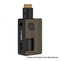 Pre-Sale Authentic Vandy Vape Pulse X 18650/20700 Squonk Kit - Frosted Amber