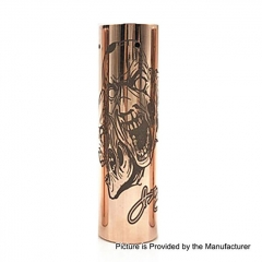Rogue 3 Faces Style 18650/20700 Hybrid Mechanical Tube Mod - Copper