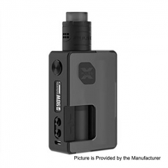 Authentic Vandy Vape Pulse X 90W 18650/20700/21700 Squonk Kit - Frosted Black