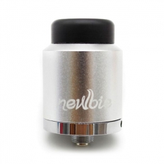 Authentic Vapor Dance Newbie 24mm RDA Rebuildable Dripping Atomizer 0.35ohm - Silver