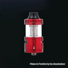Authentic Steam Crave Aromamizer Supreme V2 25mm RDTA Rebuildable Dripping Tank Atomizer - Red
