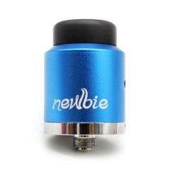 Authentic Vapor Dance Newbie 24mm RDA Rebuildable Dripping Atomizer 0.35ohm - Blue
