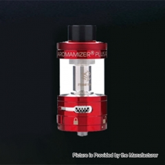 Authentic Steam Crave Aromamizer Plus 30mm RDTA Rebuildable Dripping Tank Atomizer 10ml - Red