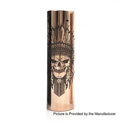 Rogue Rainmarker Style 18650/20700 Hybrid Mechanical Tube Mod - Copper